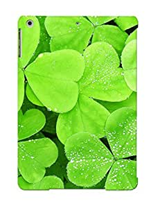 HDuotMC518yXhUy New Ipad Air Case Cover Casing(clovers )/ Appearance