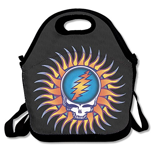 The Grateful Dead Workingman's Dead Truckin Polyester Cute Lunch Bag Tote