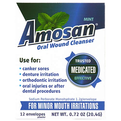Oral Antiseptic - Amosan Oral Wound Cleanser