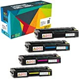 Do it Wiser Compatible Toner Cartridge Ricoh Aficio SP C320DN SP C242DN SP C232SF SP C231N C231SF C232DN C242SF C310 C310A SP C311N SP C312DN - 406475 406476 406477 406478 (4-Pack)