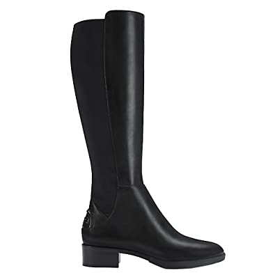 4f26c742f980 Amazon.com | Tory Burch Boots Caitlin Leather Stretch (8.5, Black) | Boots