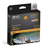 RIO Fly Fishing Fly Line InTouch Switch Chucker 7 Fishing Line, Gray-Orange-Green