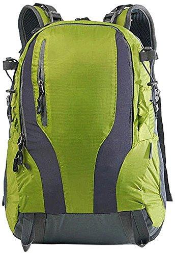 männer und frauen im bergsteigen taschen schulter hly-b0012 35l ultralight reisen wichtig, reisen, grüne