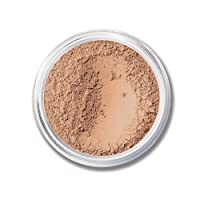 Mineral Foundation Loose Powder 8g Sifter Jar- Choose Color,free of Harmful Ingredients (Compare to Bare Minerals (Medium Beige- Matte 8 Grams)