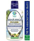 Best Liquid Vitamins - Men's Mega Premium Liquid Multivitamin w/ CoQ10, PABA Review