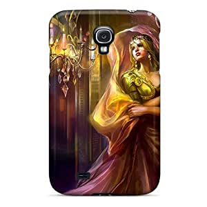 Hot Boyhvhw6664kgYmI Graceful Queen Tpu Case Cover Compatible With Galaxy S4