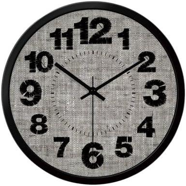 ZHUNSHI Metal Bolsa de Deporte, E Personalidad Salón Schlafzimmer Oficina Decorativa Pared Clock Clock, B Black Box, 12 Pulgadas: Amazon.es: Juguetes y juegos