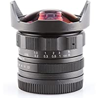 Pixco APS-C CL-Mil7528N 7.5mm F2.8 Fish-eye Wide Angle Lens for M4/3 Micro 4/3 MFT M43
