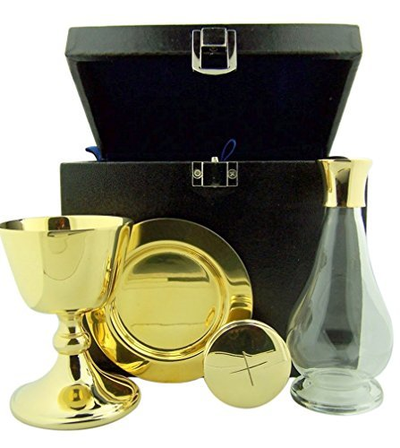 (Chalice Paten Pyx Holy Water Bottle Carrying Case Minister Travel Mass Kit)