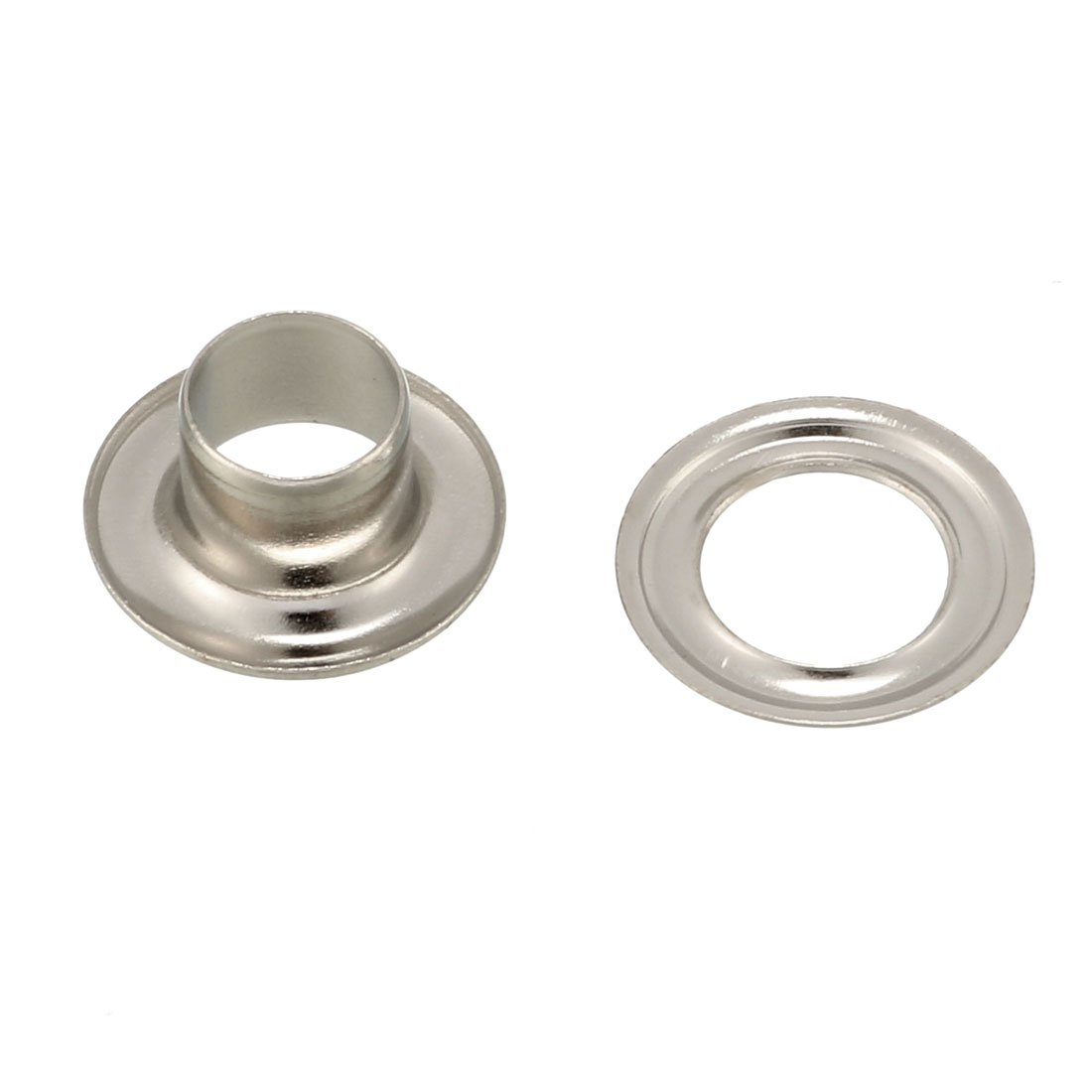 8mm x 80mm Threaded Rod Brass Double Headed Bolt Fastener with Hex Nuts M7 TJ 2X