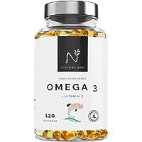 Omega 3+Vitamina E. Alta dosis de ácidos grasos Omega 3, 2000mg.Alta concentración…