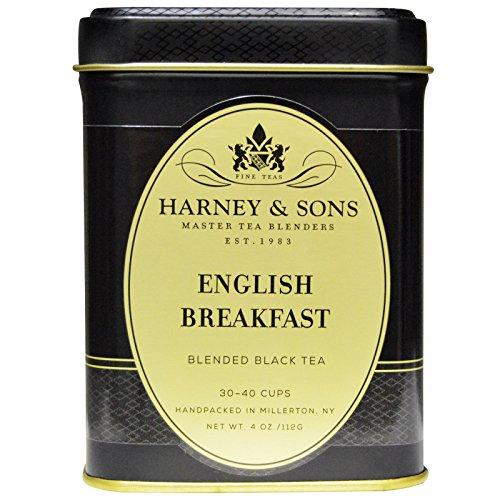 Harney & Sons, English Breakfast Keemun Tea, 4 oz