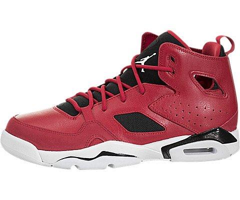 - Jordan Nike Kids FLTCLB '91 BG Gym Red/White Black Basketball Shoe 7 Kids US