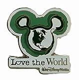 Disney Pin Mickey Ears Icon Love The World
