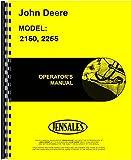 John Deere Tractor Operators Manual (2150 Tractor | 2255 Tractor)