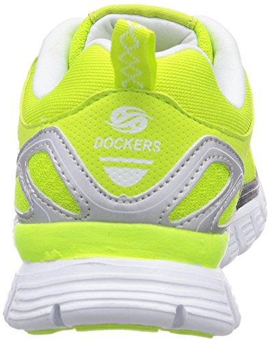 Dockers Gelb 900 Gelb by Sneakers Jaune 36VN20 basses Gerli femme rqrvRS