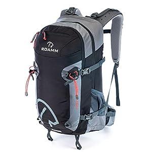 Roamm Highline 30 Backpack - 30L Liter Internal Frame Daypack - Best Bag for Camping, Hiking, Backpacking, and Travel - Men and Women