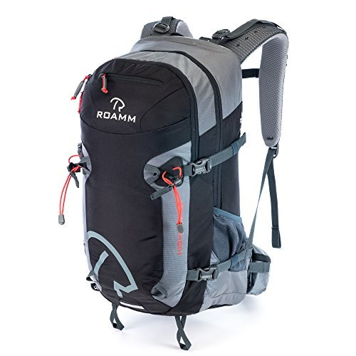 Roamm Highline 30 Backpack - 30L Liter Internal Frame Daypack - Best Bag for Camping, Hiking, Backpacking, and Travel - Men and Women by Roamm