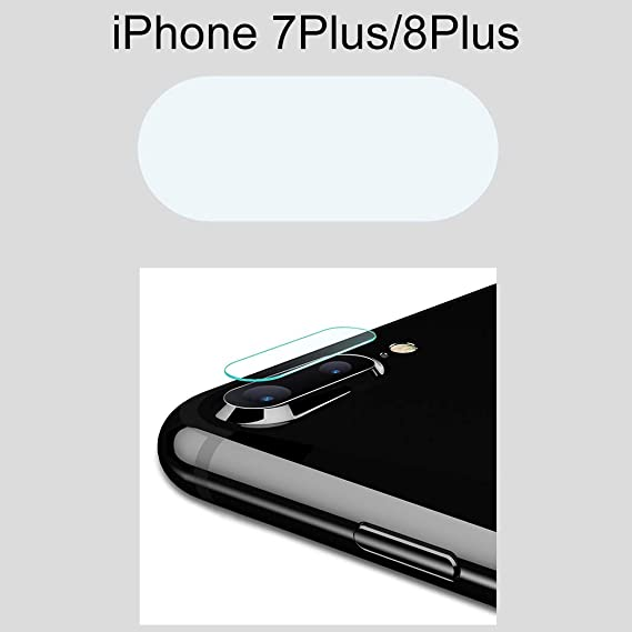 new concept 01b73 bd924 Amazon.com: Bangcool iPhone 6 Plus Camera Cover Tempered Glass Phone ...