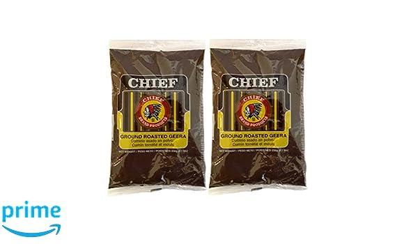 amazon com chief roasted geera ground cumin seeds 230g 8 1oz pack