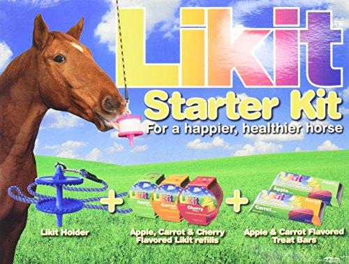 Likit Holder - MANNA PRO-EQUINE 991439906 6 Piece Likit Starter Kit