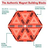 Magnetic Blocks 82 Piece Set - Magnetic Tiles for
