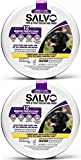 SALVO Flea & Tick Collar for Dogs 25in, Large & X-Large, 4ct (2 x 2ct)