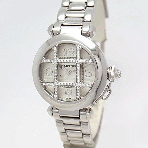 [カルティエ]Cartier 腕時計 パシャ32mm ダイヤグリッド WJ1014M9 レディース [並行輸入品] B00XKS60P8