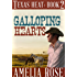 Galloping Hearts (Contemporary Cowboy Romance) (Texas Heat Book 2)