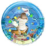 iHaHa 40''X40'' Baby Tummy Time Water Play Mat,Infant Inflatable Water Play Mat Toys for 3 6 9 12 Months Newborn Infant Toddler Boy Girl Baby