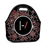 Dmgp Home Twenty-One-Pilots Party Insulated Thermal Cooler Tote Lunch Bag/Bento Bag/Picnic Box For Adults Kids