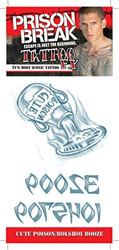 Prison Break Cute Poison and Bolshoi Booze Tattoo]()