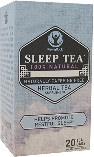 Piping Rock Sleep 00% Natural Herbal Tea 20 Bags