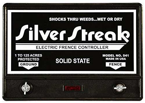 Silver Streak 541 Solid State Electric Fence Charger Usa ...