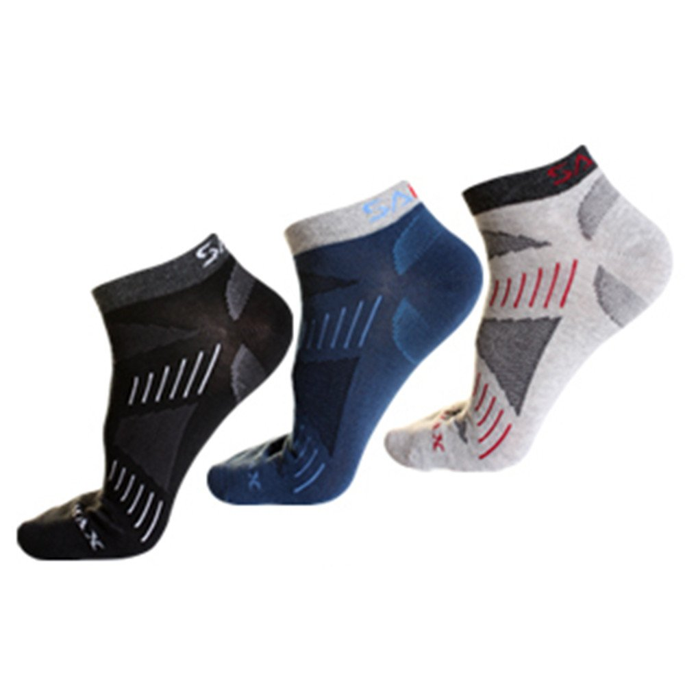 Noga Coolmax Men 3-pack Outdoor Mountaineering Socks Sports Socks Absorb Moisture Permeability Low Socks santo