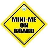 Mini Mich Auto Schild, On Board, Stoßstangenaufkleber, Baby Fahren Zeichen, Kfz-zeichen,...