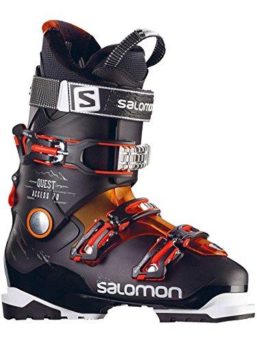 Salomon Quest Access 70 Ski Boot Men's Black/Orange Translucent/Fluorescent Orange 26.5