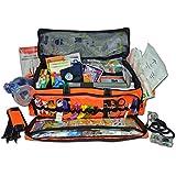 Lightning X MB50 X-Tuff O2 Medic First Responder EMT Trauma Jump Bag First Aid Duffle Stocked Fill Kit D
