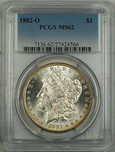 1882 O Morgan Dollar PCGS MS-62