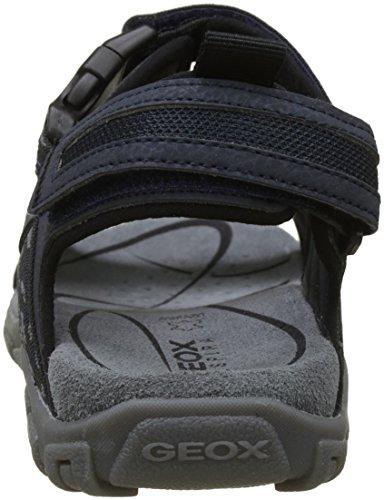 Sandali alla Cinturino Uomo con A Caviglia Strada Geox Blu Navy tgqaCa