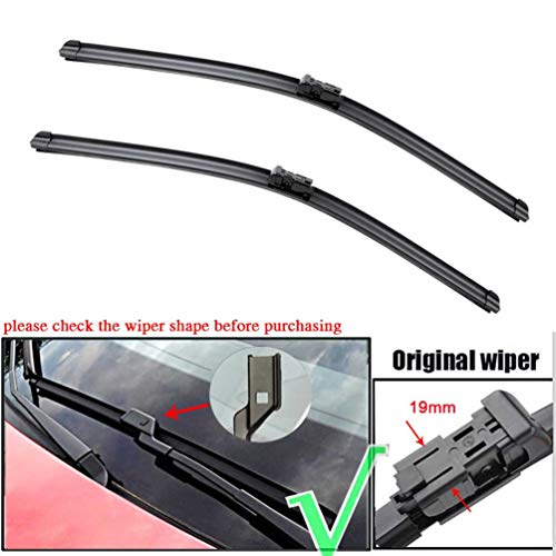Front Windshield Wiper Blades set of 2 wipers Factory fit 2014-2015 Mercedes-Benz C E Class C250 C300 C350 C63 AGM E350 E550