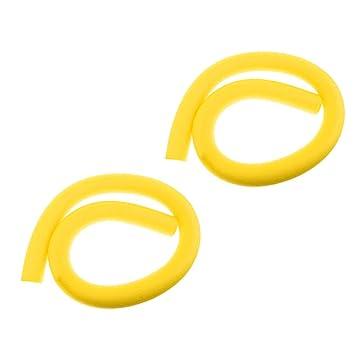 Sharplace 2 Unidades de Fideos Flotadores de Piscina Espuma Flotante de Comprensión de Natación para Niños Material LDPE - Amarillo: Amazon.es: Deportes y ...