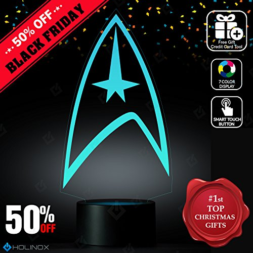 Diy Children's Book Character Costumes (Star Trek Lighting Decor Gadget Lamp Awesome Gift (MT015) By Holinox)