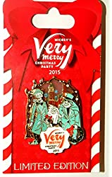NEW 2015 Disney MVMCP Mickey's Very Merry Christmas Party Limited Edition Pin - Hitchhiking Ghosts