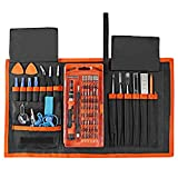 Blingco 78 in 1 Precision Screwdriver Set, Magnetic Driver Kit with Repair Tools for iPhone, iPad, Tablet, MacBook, Watches, Laptops, PC, Electronics Repair Tool Kit