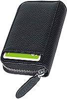 [NEESE] クレジットカードケース カード入れ スキミング防止 じゃばら 大容量 コインケース メンズ レディース (マスタード)