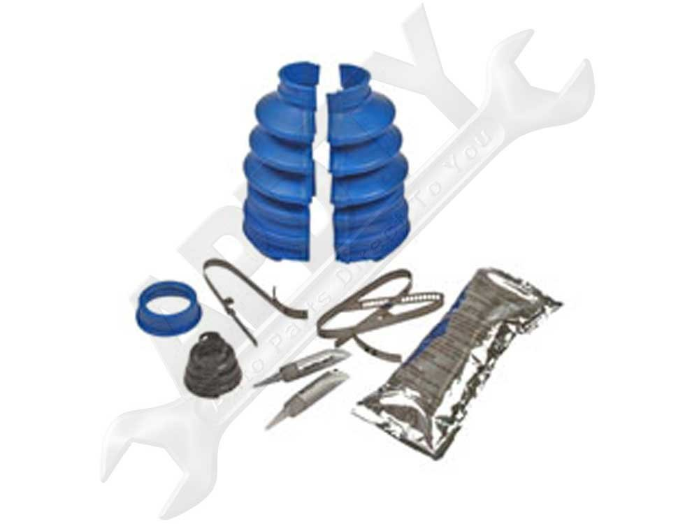 APDTY 725743 Outer CV Joint Solvent Welded Split Boot Kit (3. x 1.06 Inches)