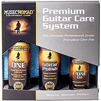 Music Nomad MN108 Premium Guitar Care 5-Piece Kit