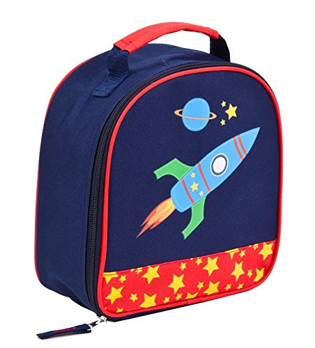 Aquarella Kids Rocket Lunchbox, Blue