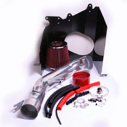 RED 2004-2013 Nissan Titan Armada Infiniti Qx56 5.6 5.6l V8 Heatshield Cold Air Intake Kit Systems